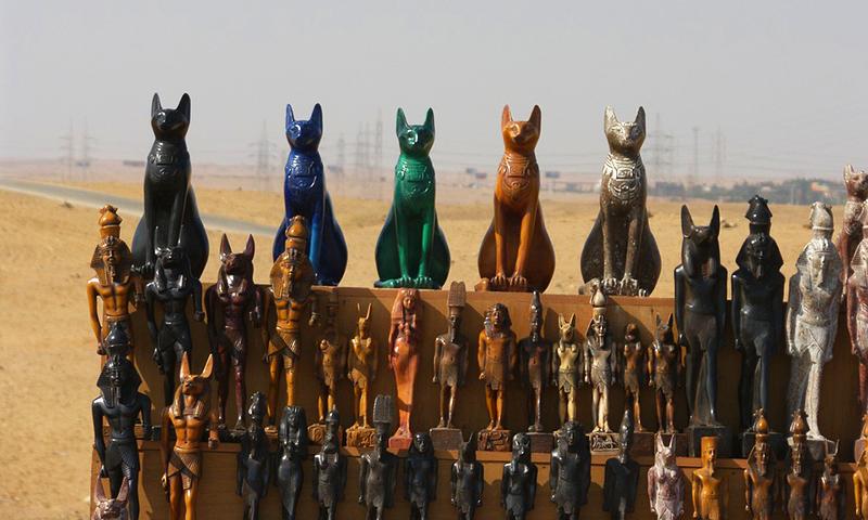 Arta pisiceasca in Cairo