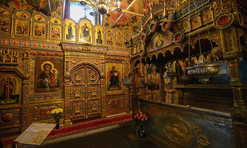 Catedrala Sfantului Vasile - interior