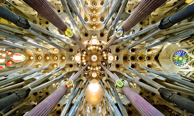 La Sagrada Familia - interior