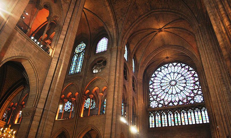 Notre-Dame de Paris - interior