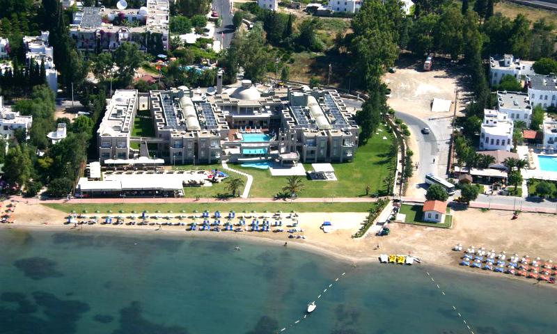 Plaja privata a hotelului