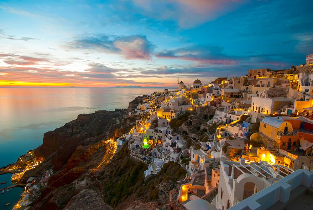Santorini , grecia