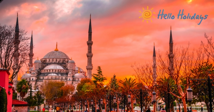 Circuit Istanbul Moschee