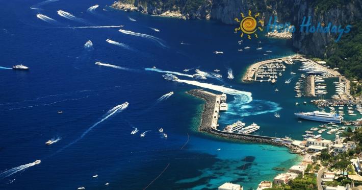 Circuit Italia şi Insula Capri