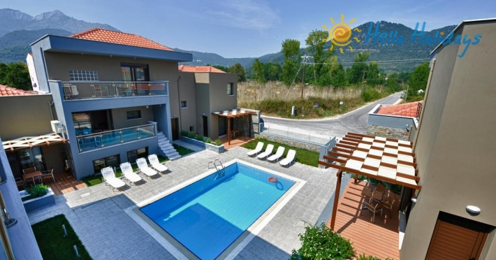 Hotel  Sejur Grecia - Golden Beach | Mary's Residence Suites - 7 nopti autocar
