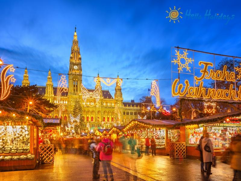 Targul de Craciun Viena - Budapesta | 4 zile - Autocar