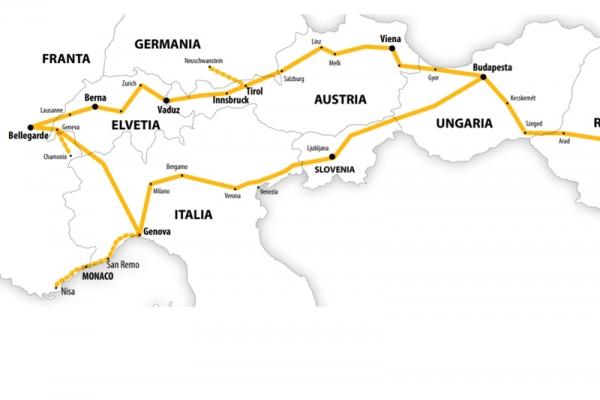Harta Circuit Elvetia - Coasta de Azur | 11 zile - Autocar | 2020