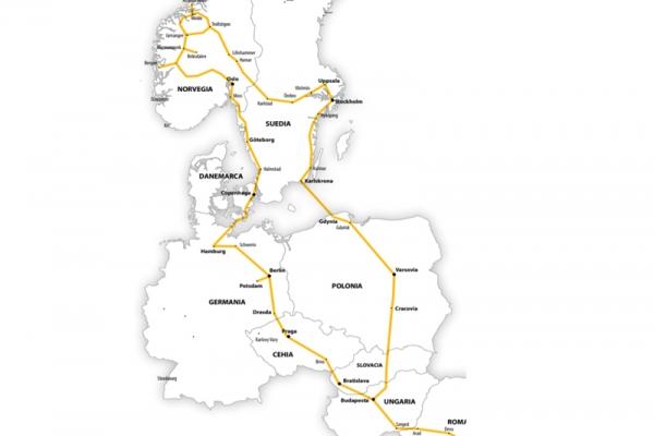 Harta Circuit Fiorduri Scandinave | 16  zile - Autocar | 2020