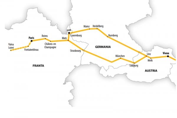 Harta Circuit Franta - Germania | 9 zile - Autocar | 2020