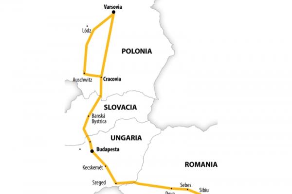 Harta Circuit Polonia | 6 zile - Autocar | 2020