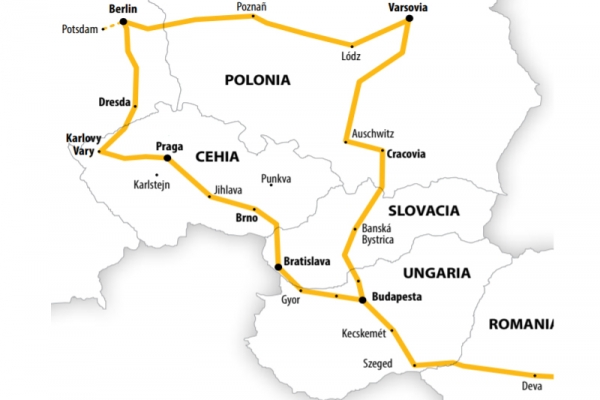 Harta Circuit Polonia Germania | 8 zile - Autocar | 2020