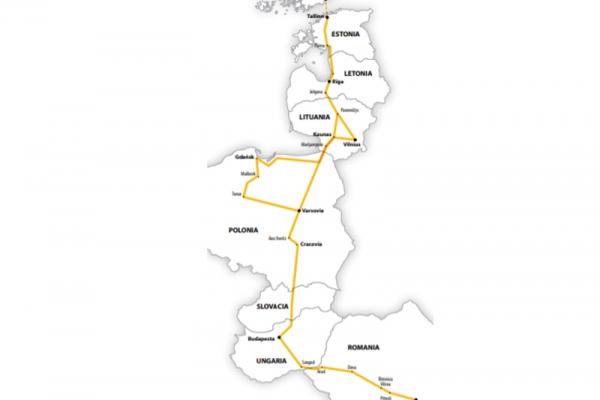 Harta Circuit Polonia - Tarile Baltice | 12 zile - Autocar | 2020