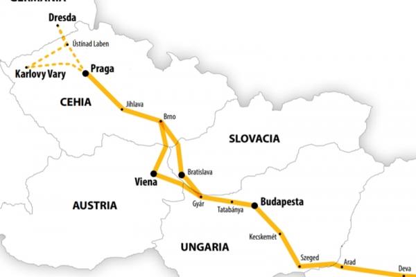 Harta Circuit Praga | 6 zile - Autocar | 2020  - Comorile Moraviei (Hotel 3*)