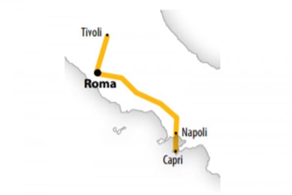 Harta Circuit Roma - Insula Capri | 5 zile - Avion | 2020