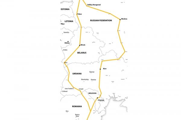 Harta Circuit Rusia - Moscova - Sankt Petersburg | 15 zile - Autocar | 2021