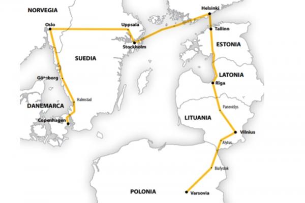 Harta Circuit Scandinavia - Tarile Baltice | 12 zile - Avion | 2020