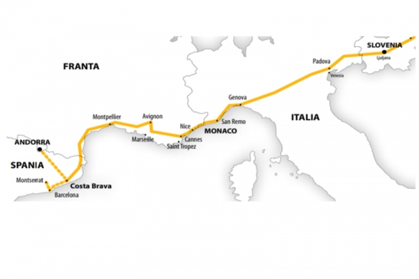 Harta  Circuit si Sejur Spania - Costa Brava | 13 zile - Autocar | 2020