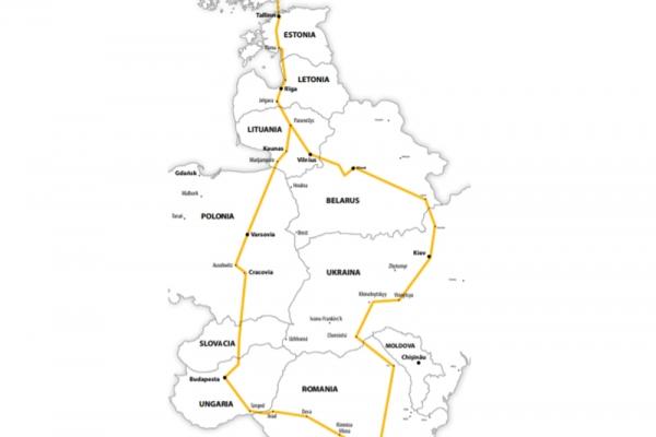 Harta Circuit Tarile Baltice - Belarus - Ucraina | 11 zile - Autocar | 2020
