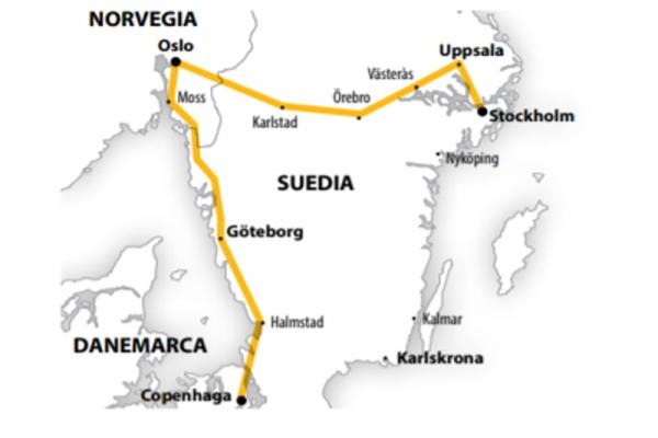 Harta Circuit Tarile Nordice | 7 zile - Avion | 2020