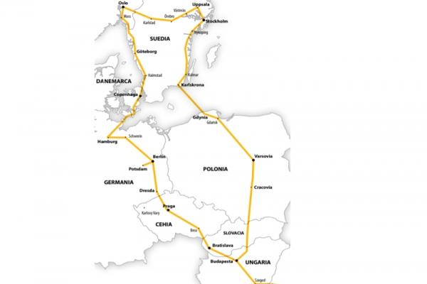 Harta Circuit Țările Nordice - Germania | 13 zile - Autocar | 2021