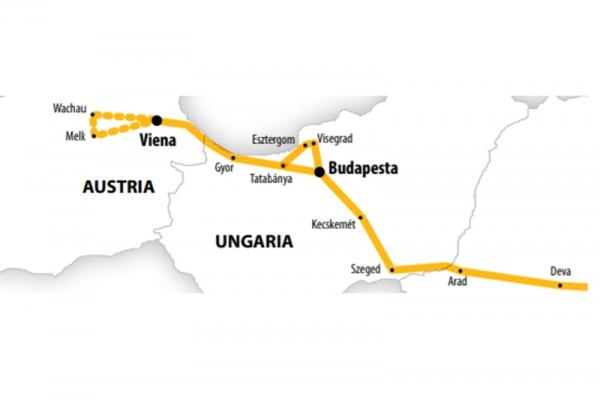 Harta Circuit Viena - Capitala Imperiala | 5 zile - Autocar | 2020