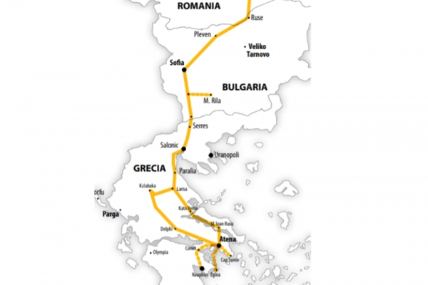 Harta Pelerinaj la Sfantul Ioan Rusul - Grecia | 6 zile - Autocar | 2021