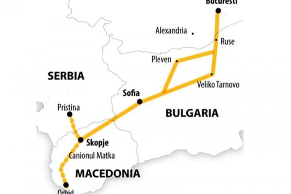 Harta Circuit Macedonia - Kosovo | 4 zile | Autocar 2021