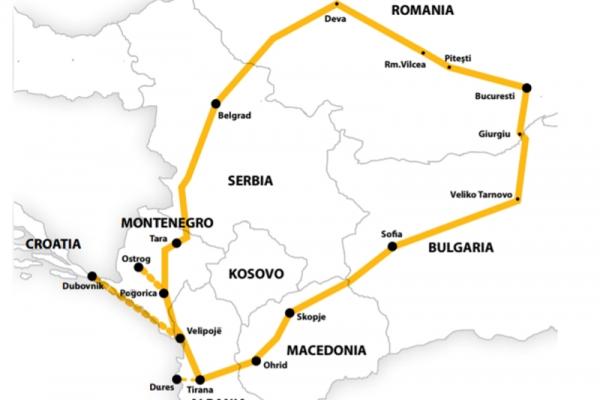 Harta Circuit si Sejur Muntenegru - Albania | 10 zile - Autocar | 2021