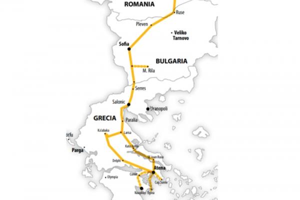 Harta Pelerinaj Grecia Sf Ioan Rusul | 6 zile - Autocar | 2020