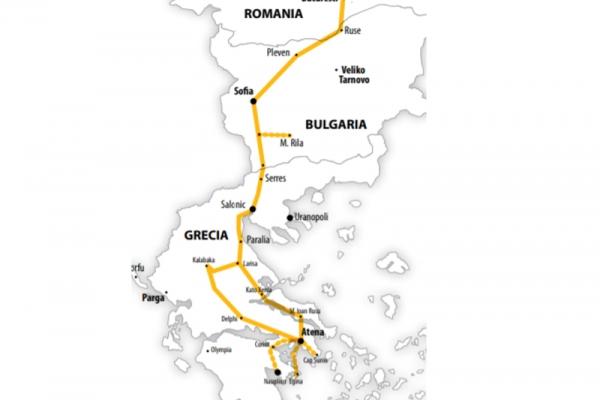 Harta Pelerinaj Grecia Sfantul Efrem cel Nou | 6 zile - Autocar | 2020